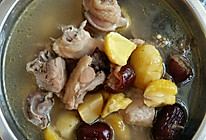 鸡肉板栗汤的做法