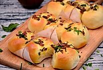 【香葱培根面包】——COUSS CO-660A智能烤箱出品的做法