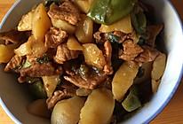 红烧猪肉豆角土豆 东北菜的做法