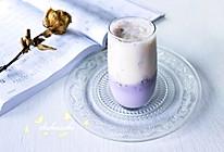 #夏日冰品不能少#蓝莓香蕉冰奶昔的做法