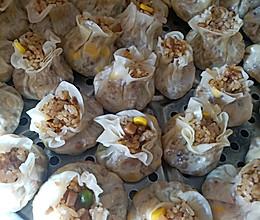 香菇糯米烧麦的做法