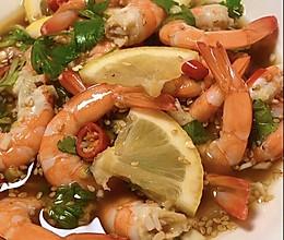 网红柠檬酸辣虾的做法