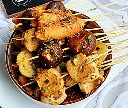 #夏日撩人滋味#巨好吃冷锅串串的做法