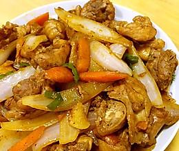 洋葱炒鸡肉的做法