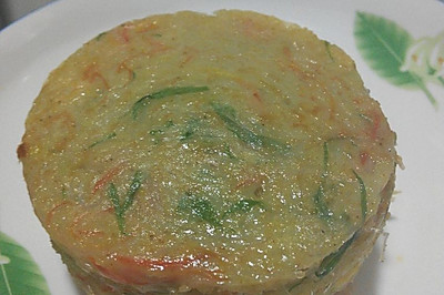 鸡蛋粉丝饼