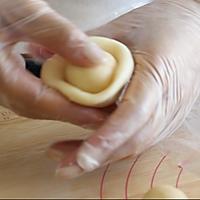 鲜花饼的做法图解5