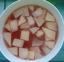 山楂苹果汤的做法