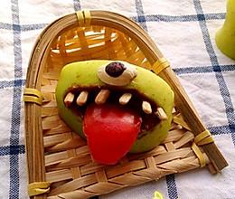 恶搞青苹果的做法