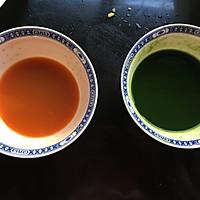 菠菜小花馒头#柏翠辅食节-辅食添加#的做法图解2