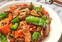 黑胡椒培根炒口蘑的做法