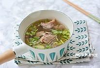 暖胃驱寒的牛肉汤的做法