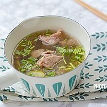 暖胃驱寒的牛肉汤