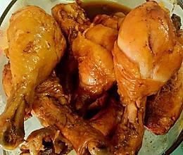 电饭煲制作飘香入骨的卤鸡腿 晚上拍的照片不好看味道超美哦。的做法