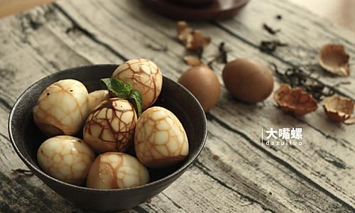 红糖茶叶蛋丨大嘴螺的做法