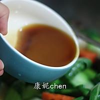 香菇炒青菜#宜家让家更有味#的做法图解9