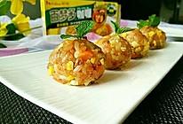 咖喱糯米饭团#百梦多Lady咖喱#的做法