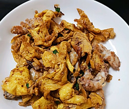 皮皮虾炒蛋的做法