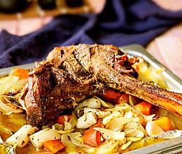#精品菜谱挑战赛#烤羊腿的做法