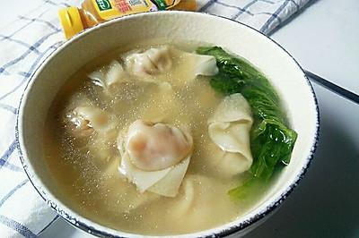 胡萝卜馄饨#太太乐鲜鸡汁小黄瓶中式#