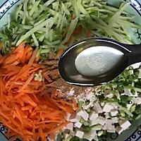 #年味十足的中式面点#山东萝卜丝豆腐卷的做法图解10