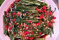 凉拌韭菜的做法