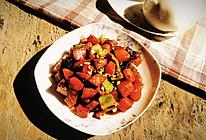 大喜大牛肉粉试用之简单营养素烧土豆的做法