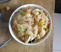 素炒老黄瓜片的做法
