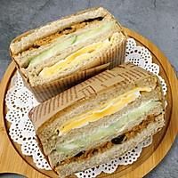 营养美味的芝士肉松三明治(含折纸法)的做法图解20