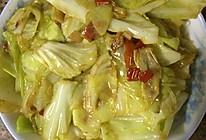 剁椒炝卷心菜的做法