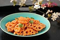 茄汁藕片#舌尖上的春宴#的做法