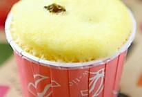微波炉纸杯蛋糕的做法