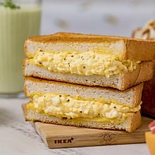日式鸡蛋三明治 | 清淡美味