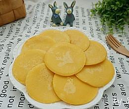 【简易版】奶香玉米饼的做法