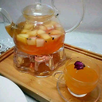 百香果水果茶