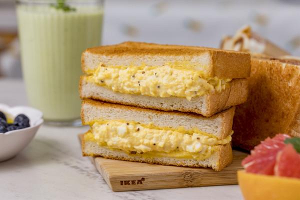 日式鸡蛋三明治 | 清淡美味的做法