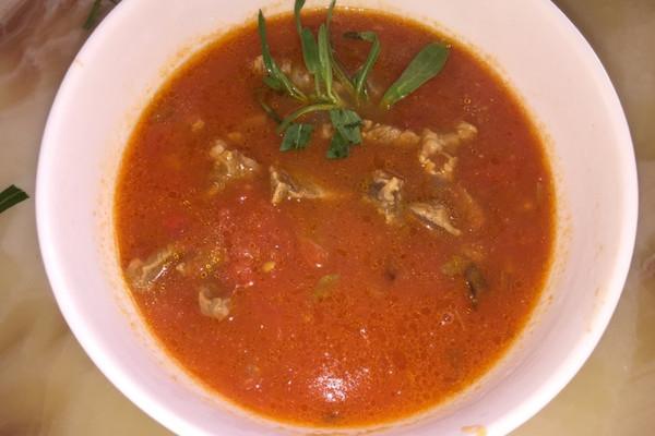 西红柿牛腩汤—简单易掌握的做法