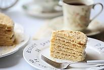 俄罗斯蜂蜜蛋糕(千层蛋糕、提拉米苏)的做法