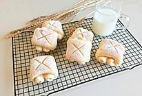 日式牛奶面包卷#跨界烤箱 探索味来#的做法