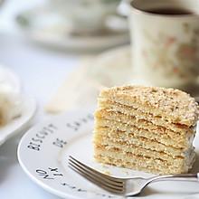俄罗斯蜂蜜蛋糕(千层蛋糕、提拉米苏)