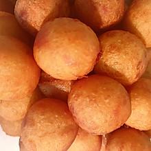 #人人能开小吃店#甜甜的童年味道:红薯丸子