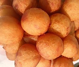 #人人能开小吃店#甜甜的童年味道:红薯丸子的做法