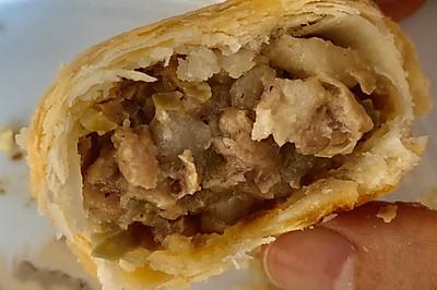 【苏式鲜肉月饼】&【酥皮鲜肉榨菜月饼】
