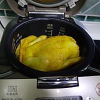 电饭锅版盐焗鸡的做法图解6
