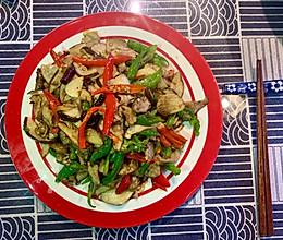 青红椒炒新鲜牛肝菌的做法