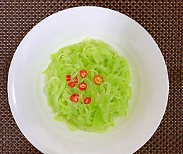 【家常菜】凉拌笋丝的做法