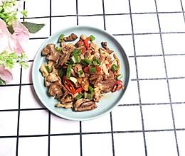 #今天吃什么#小米椒炒猪心的做法