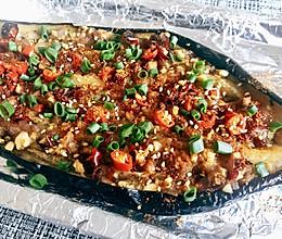 香辣烤茄子(烤箱版)的做法