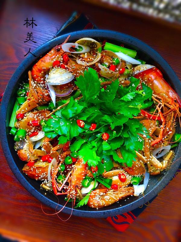 香辣蟹煲的做法