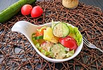 #合理膳食 营养健康进家庭#蔬菜沙拉的做法