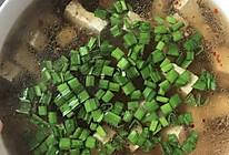豆腐猪血肉丝汤的做法